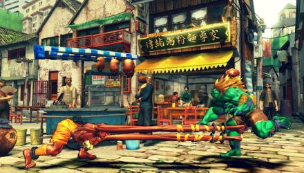 Street Fighter went 3D and still stuck to its roots
