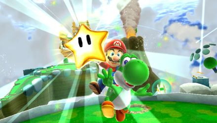 You can ride Yoshi in quite a few levels in Galaxy 2. No, it doesn't make things any better.