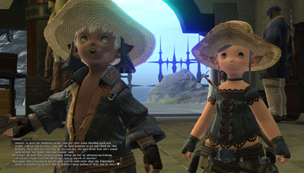 The Lalafell retain the absolute cuteness of the Tarutaru from FFXI