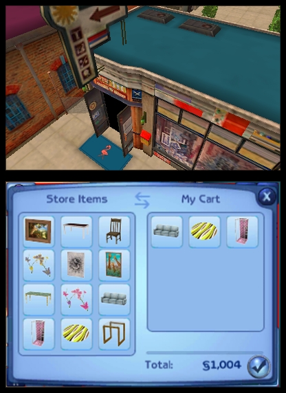 Can You Build A House In Sims  For Ds