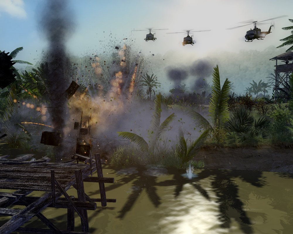 Since my experiences with the first mission of Vietnam, I've had many a nightmare that looked like this