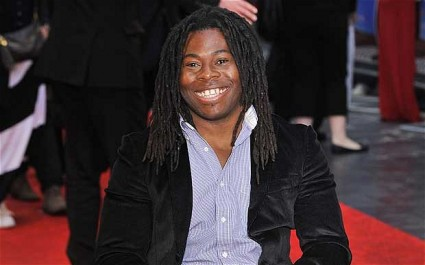 Ade Adepitan on the Red Carpet