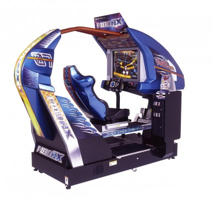This giant arcade cabinet isn't entirely practical. Luckily, GameCube's disc are tiny.