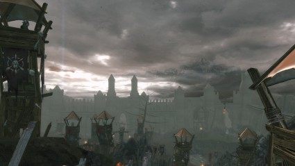 From up high, Neverwinter looks surprisingly lovely.