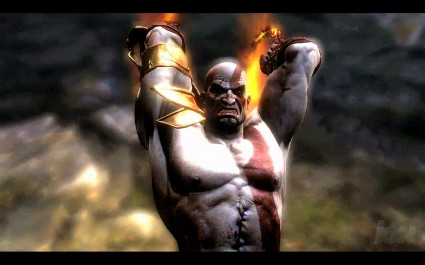 Kratos was also far from impressed at the bugs in his latest game, didn't the developers know he had some mythology to murder?!
