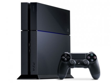 What you've all been waiting for, a picture of the PS4 hardware. Yay, another black plastic box! Didn't see that coming...