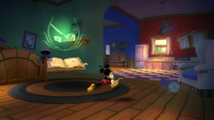 Mickey is awaken from his slumber by a message from the Wasteland...