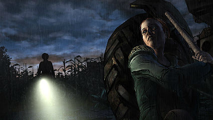 A desperate escape through a cornfield is one of the game's many highlights
