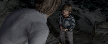 Young Walter gives the player hope that his older counterpart can be redeemed - a hope that is eventually destroyed.