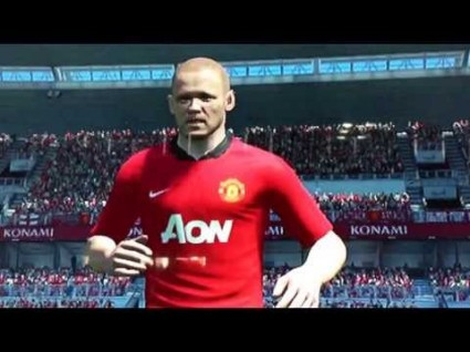 It's all about the beautiful game. And Rooney.