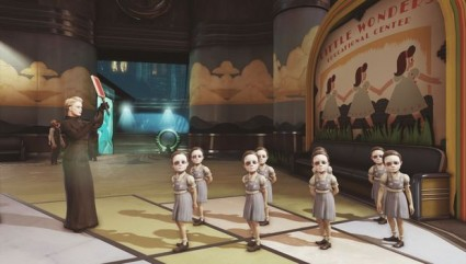 Rapture has its issues. As you can tell by these creepy little girls...
