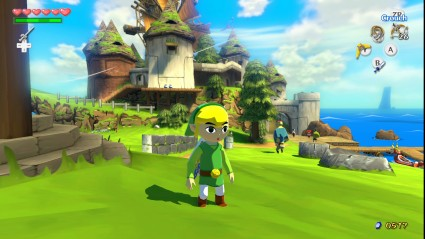 Wind Waker's vibrant world just got more vibrant...