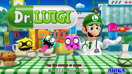 It's like Dr. Mario... but with Luigi.