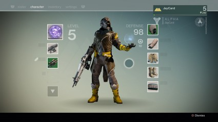 One of my Guardians in the First-Look Alpha.