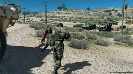 Will The Phantom Pain finally get James playing MGS or will he be cowering from it in the nearest cardboard box?