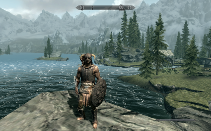 Skyrim: pretty, epic, and all a bit much for Andy B
