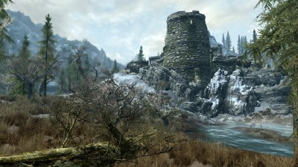 Skyrim, a bit too big and beautiful for Jade