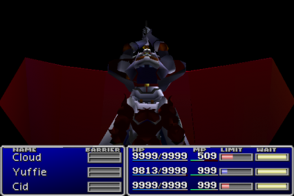 To be fair a lot of people probably never got Knights of the Round, but it was spectacular if you did