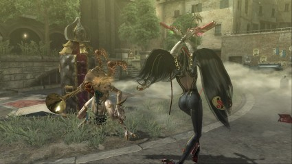 When Bayonetta told Simon not to f*ck with a witch, he just shrugged his shoulders and walked away