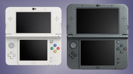 New 3DS, with added right hand analogue nubbin thing. Great improvements to an already good system? Sold!