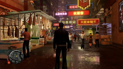 Sleeping Dogs is an attractive game, especially at night