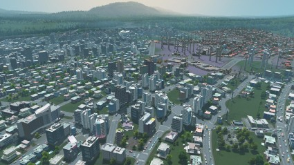 cities: skylines map size