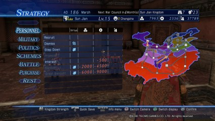 dynasty warriors 8 empires world map