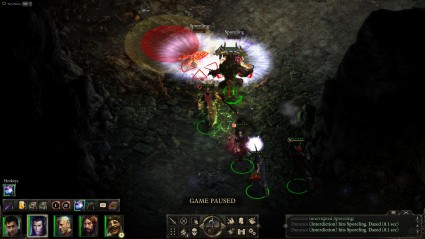 Pillars of Eternity Fighting Screenshot