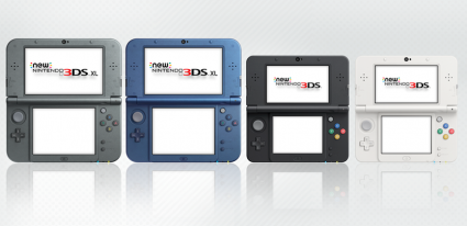 The NEW 3DS Family Portrait