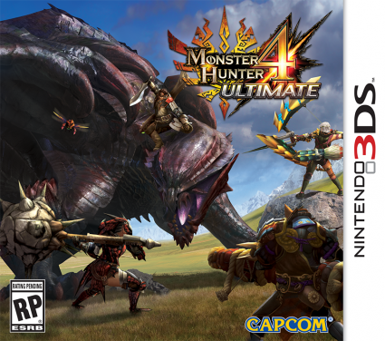 MH4U is one of the (currently few) games that takes advantage of the New 3DS features.