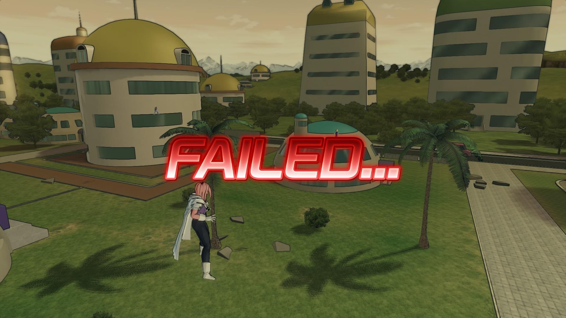 Again! It wasn't my fault! Stupid NPC allies...