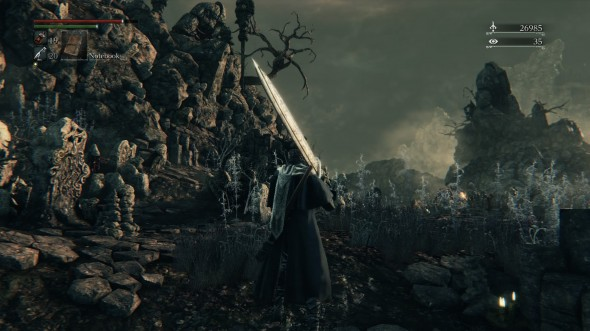 Bloodborne PS4 screenshot