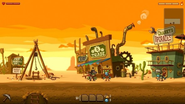 SteamWorld Dig screenshot review