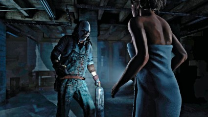 Until Dawn knows it's genre, this picture alone could be used for horror genre bingo