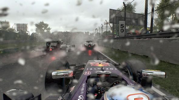 F1 2015 wet lap