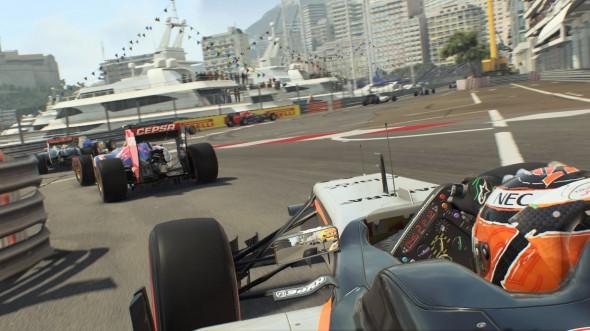 F1 2015 handling