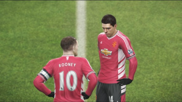 PES 2016 - Fair to say it plays better than Rooney at the moment