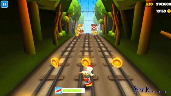 Surfing Subways, fun in a mobile game perhaps, probably not such a good idea in real life