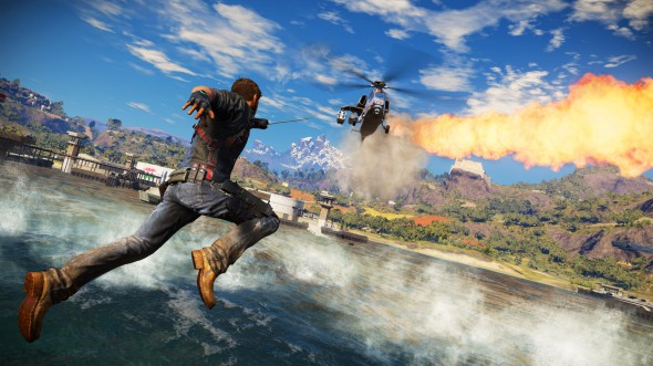 Take some explosions, added equal parts explosions, and add a sprinkle of explosions, and you have Just Cause 3. Explosions.