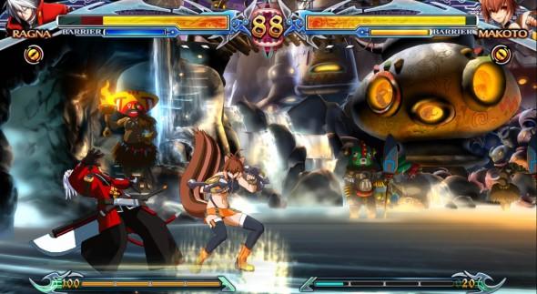 Ragna is BlazBlue's Ryu. Good all rounder.