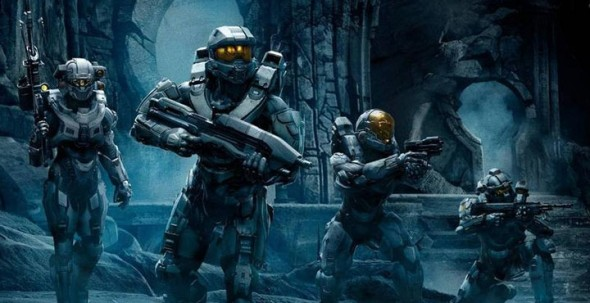 Master Chief has actual people to talk to now, not just a voice in his head...