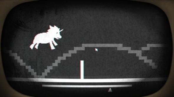 Pony Island jumping